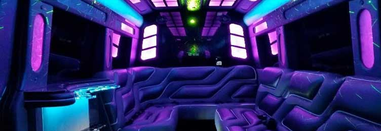 Sprinter Limo Van Interior
