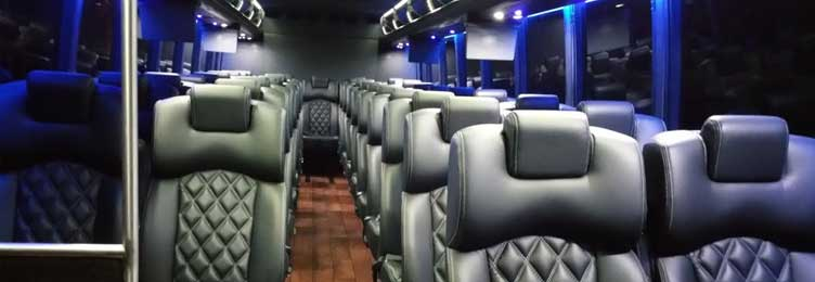 Shuttle Bus Interior