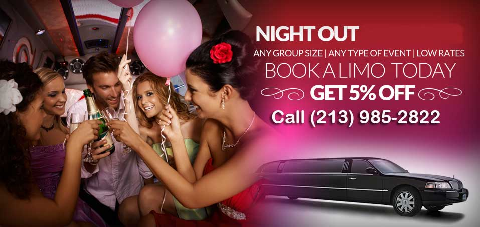 Los Angeles night out limo services