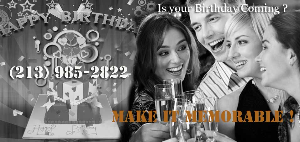 Los Angeles Birthday Limo Services